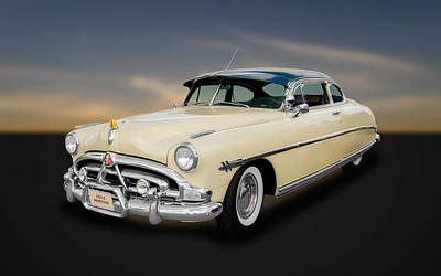 Photograph - 1952 Hudson Hornet 2-door Sedan  -  Hud11 by Frank J Benz