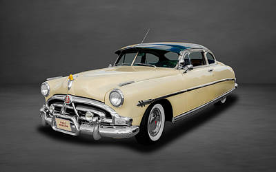 Photograph - 1952 Hudson Hornet 2-door Sedan  -  Hud44 by Frank J Benz