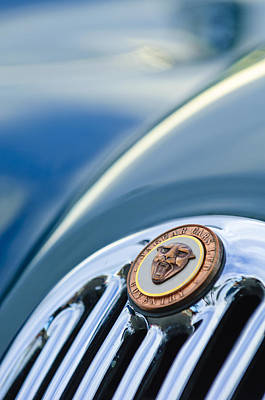 Photograph - 1952 Jaguar Hood Ornament by Jill Reger