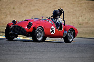 Sports Royalty-Free and Rights-Managed Images - 1952 MG Td Schiaretti Special by Dave Koontz