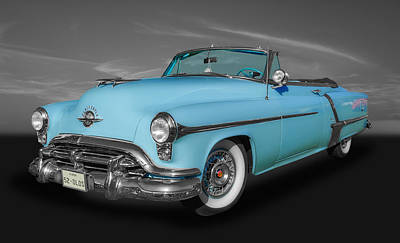 Photograph - 1952 Oldsmobile Convertible by Frank J Benz