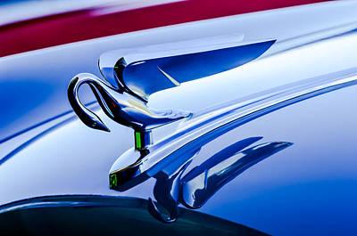 Packard Wall Art - Photograph - 1952 Packard 200 Sedan Hood Ornament -1185c by Jill Reger