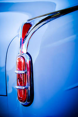 Photograph - 1952 Packard 200 Sedan Taillight -1173c by Jill Reger