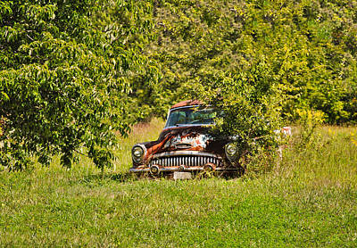 Photograph - 1953 Buick - Field Of Dreams 1 by Greg Jackson
