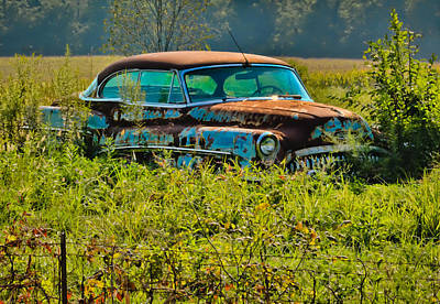 Photograph - 1953 Buick Roadmaster - September Morning by Greg Jackson