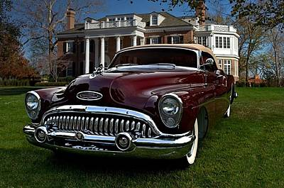 Photograph - 1953 Buick Skylark Convertible by Tim McCullough