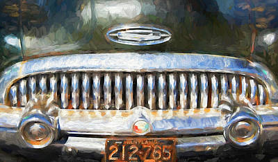 Photograph - 1953 Buick Skylark Road Warrior by Rich Franco