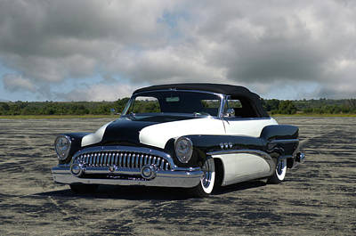 Photograph - 1953 Buick Special Convertible by Tim McCullough