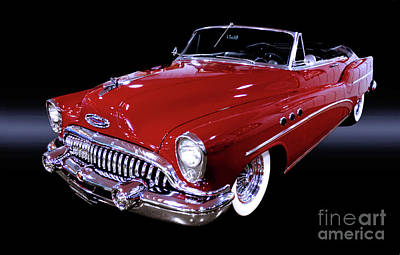 1953 Pontiac Photograph - 1953 Buick Super Convertible by Thomas Burtney
