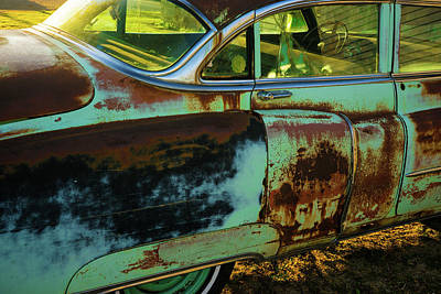Photograph - 1953 Cadillac Rusting Away by Douglas Barnett