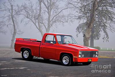 Photograph - 1983 Chevrolet C10 Fleetside Pickup 'hottie Hauler' I by Dave Koontz