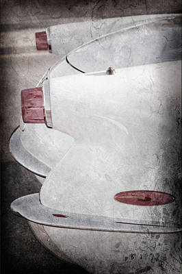 Photograph - 1953 Chevrolet Corvette Taillights -0097ac by Jill Reger