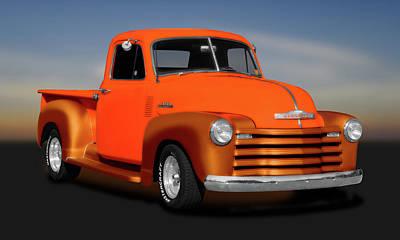 Photograph - 1953 Chevrolet Pickup Truck, 3100 Series  -  1953chevrolet3100seriestruck183673 by Frank J Benz