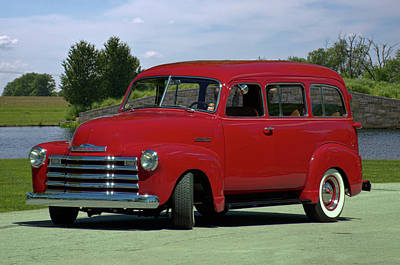 Photograph - 1953 Chevrolet Suburban by Tim McCullough
