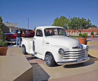 Photograph - 1953 Chevy 3500_1a by Walter Herrit