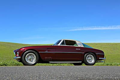 Photograph - 1953 Ferrari Vignale 375 America by Steve Natale
