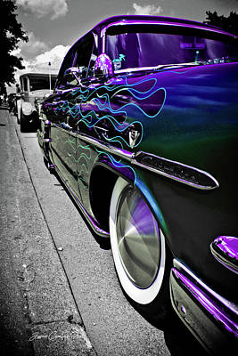 Photograph - 1953 Ford Customline by Joann Copeland-Paul