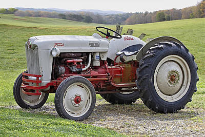 Antique Tractors Photograph - 1953 Ford Golden Jubilee Naa by Debra and Dave Vanderlaan