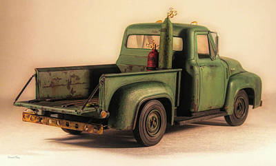 Photograph - 1953 Ford Service Truck Rear by David King