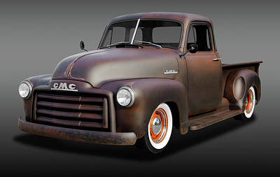 Photograph - 1953 Gmc Patina Special Pickup Truck   -   1953gmctrkpatinaspclfa170658 by Frank J Benz
