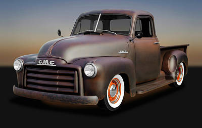 Photograph - 1953 Gmc Patina Special Pickup Truck  -  1953gmctruckpatinaspcl170658 by Frank J Benz