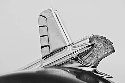 1953 Pontiac Hood Ornament 2 Art Print by Jill Reger