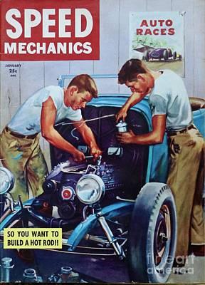 Photograph - 1953 Speed Mechanics by Craig Wood