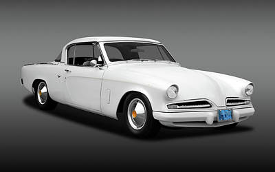 Photograph - 1953 Studebaker Commander Coupe  -  1953studecommanfa170259 by Frank J Benz