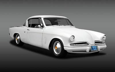 Photograph - 1953 Studebaker Commander Coupe  -  1953studecommanfa170259 by Frank J Benz