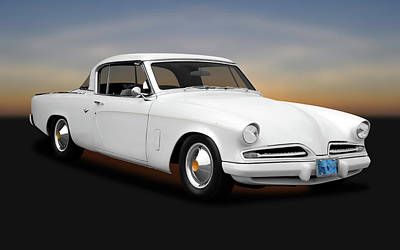 Photograph - 1953 Studebaker Commander Coupe  -  53studecommander170259 by Frank J Benz