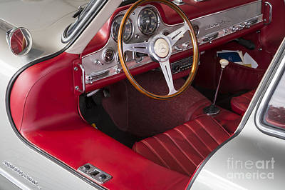 Photograph - 1954 300 Sl by Dennis Hedberg
