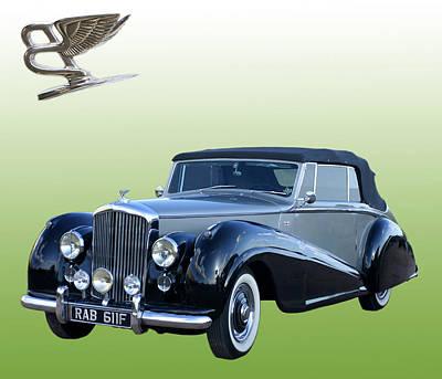 1954 Bentley Drop Head Coupe Original by Jack Pumphrey
