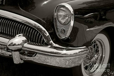 Buick Grill Photograph - 1954 Buick Roadmaster by Dennis Hedberg