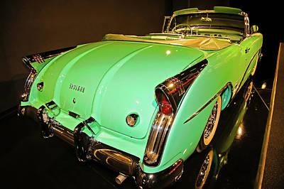 1954 Buick Skylark Fins Art Print