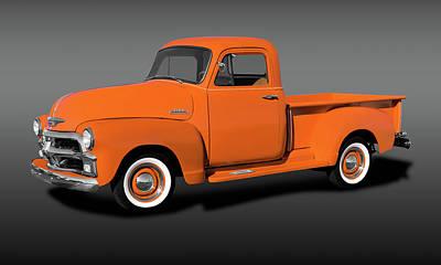 Photograph - 1954 Chevrolet 3100 Series Pickup Truck  -  1951chevy3100pickupfa173490 by Frank J Benz