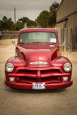 Photograph - 1954 Chevrolet Pickup Classic Car Photograph 6738.02 by M K Miller