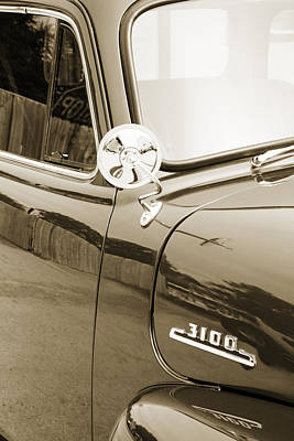 Photograph - 1954 Chevrolet Pickup Classic Car Photograph 6740.01 by M K Miller