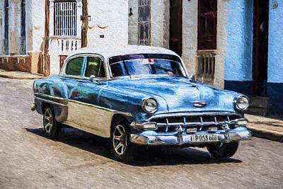 Photograph - 1954 Chevy Cuba by Lou Novick
