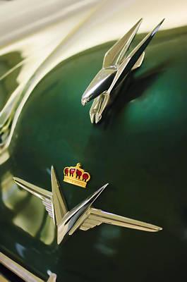 Photograph - 1954 Chrysler Imperial Sedan Hood Ornament by Jill Reger