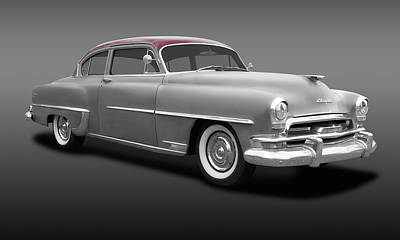 Photograph - 1954 Chrysler Windsor Deluxe Sedan  -  54chryslerwindsordeluxefa183847 by Frank J Benz