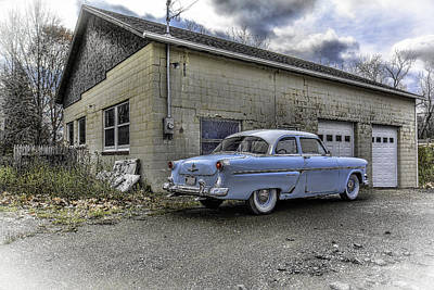 Ford Customline Photograph - 1954 Ford Crestline Hdr Rev A by Michael Rankin