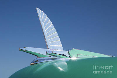 Photograph - 1954 Ford Hood Ornament by Kevin McCarthy