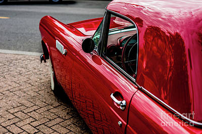 Photograph - 1954 Ford Thunderbird by M G Whittingham