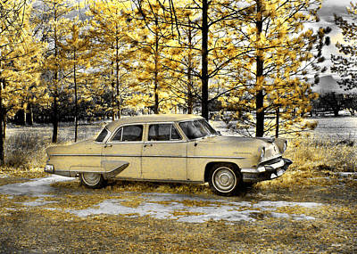 Photograph - 1954 Imperial by Jamieson Brown