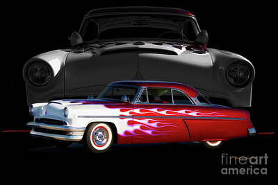 Traditional Bells Rights Managed Images - 1954 Mercury Custom Monterey I Royalty-Free Image by Dave Koontz