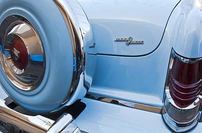 Photograph - 1954 Mercury Monterey Merc O Matic Spare Tire by Jill Reger