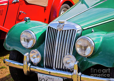 Photograph - 1954 Mg Tf Sports Car by Chris Dutton