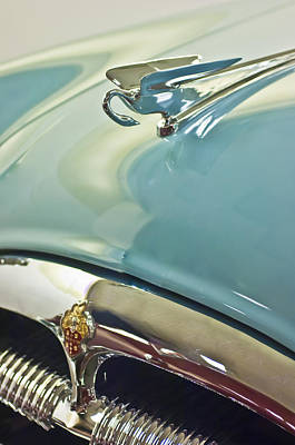 1954 Packard Cavalier Hood Ornament 2 Art Print by Jill Reger