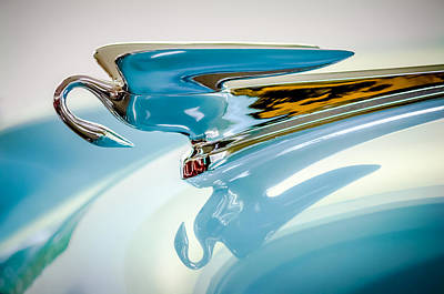 Photograph - 1954 Packard Cavalier Hood Ornament by Jill Reger