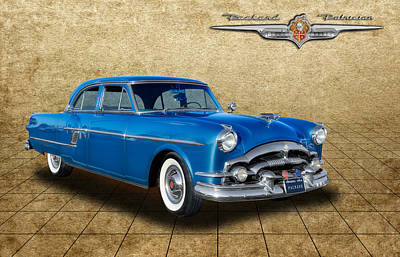 1954 Packard Patrician 4 Door Sedan Art Print